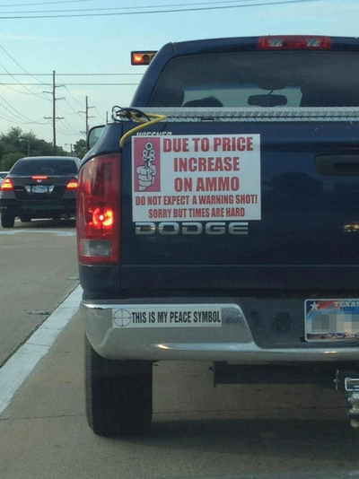 Due to Price Increases on Ammo…