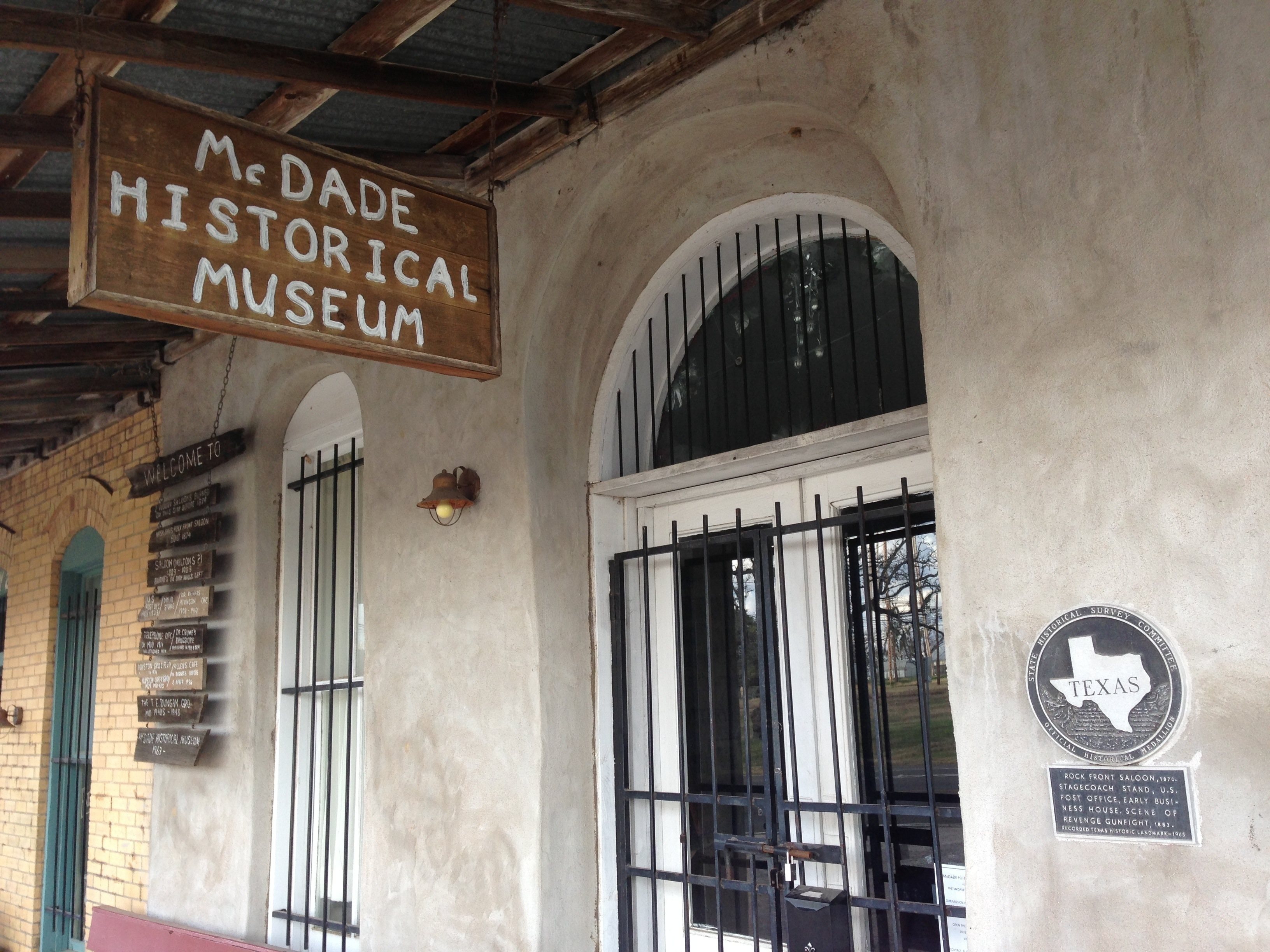 Had a Photo Shoot Near McDade, TX – Historical Museum