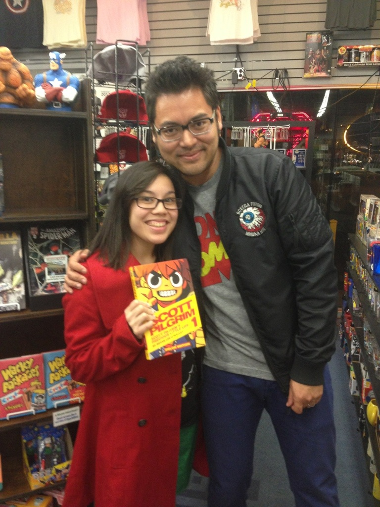 Meeting Bryan Lee O'Malley