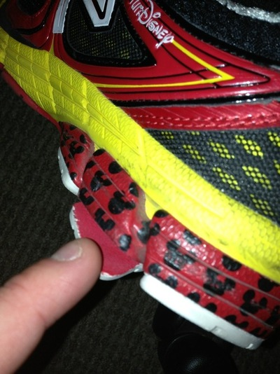 My Limited Edition RunDisney Shoes are Already Falling Apart :-( I'm Told That ShoeGoo Works Well.