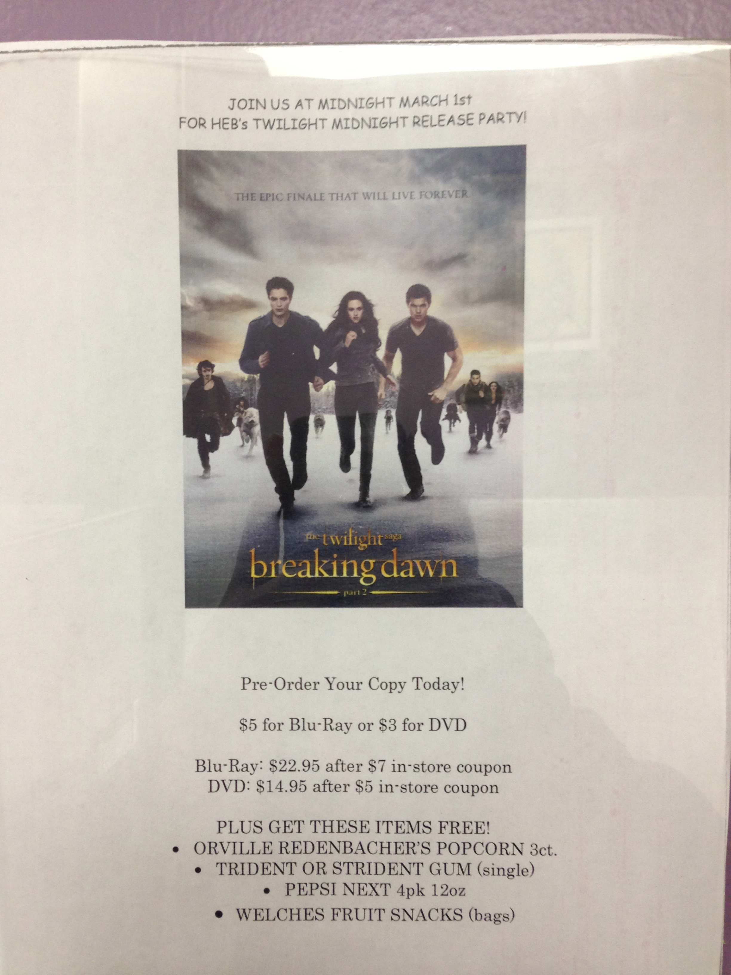 Twilight Breaking Dawn – Part 2