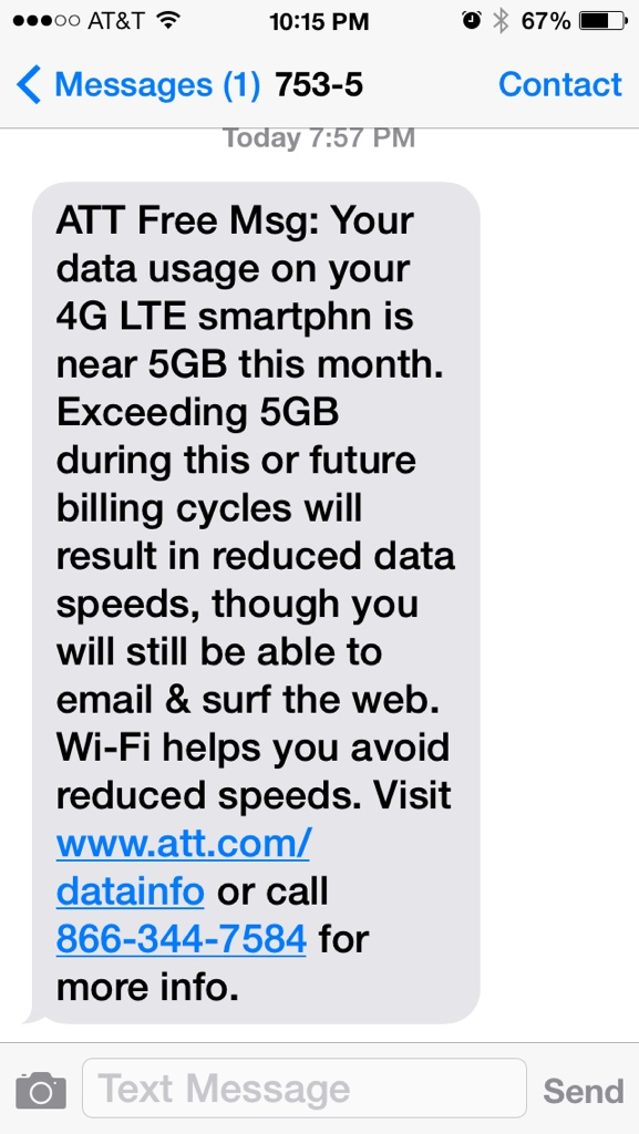 Exceeding the Limit of Unlimited Data